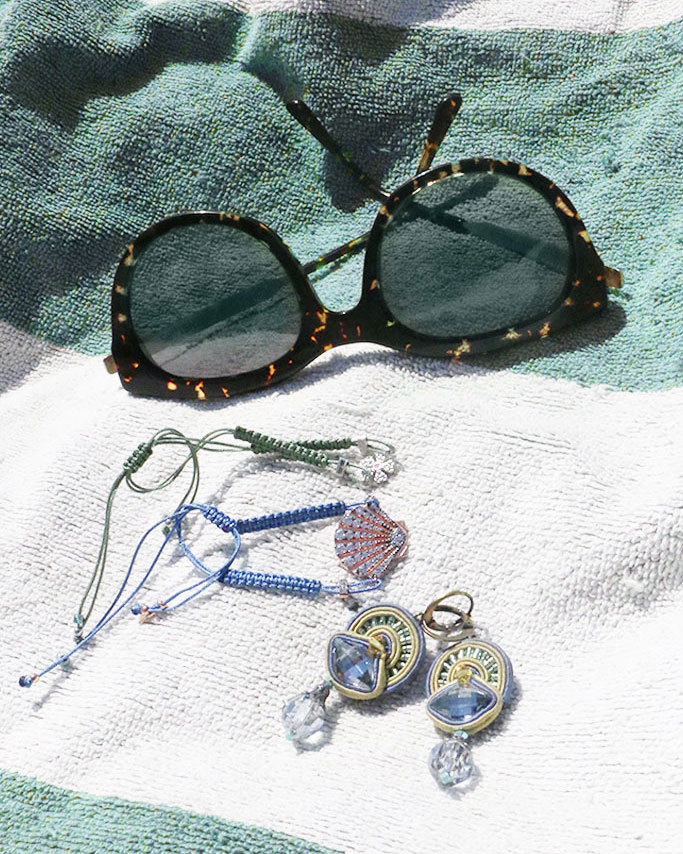 Conservare i gioielli in spiaggia