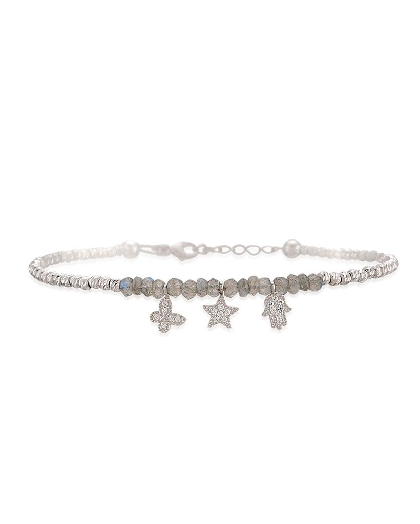 Mano di Fatima - Bracciale in argento 925