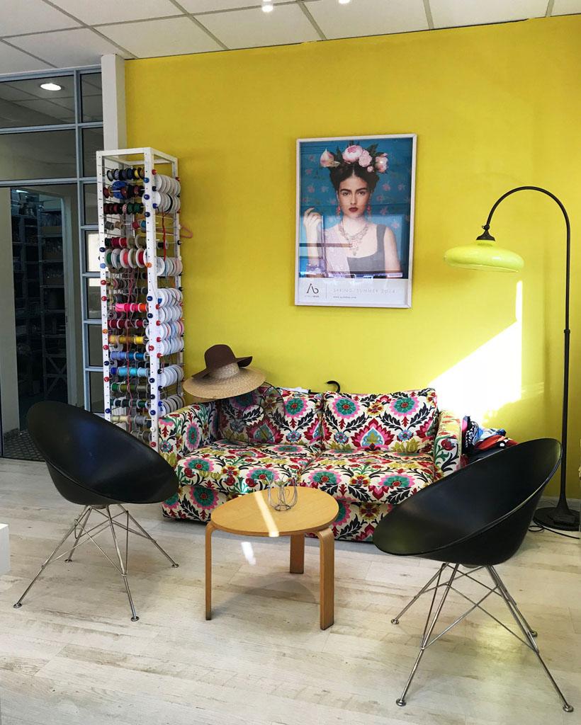 L'atelier di Ayala Bar in Israele