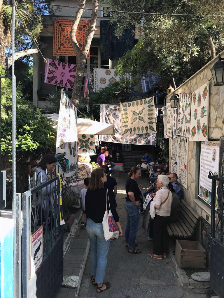 Atelier di Bedri Rahmi a Istanbul
