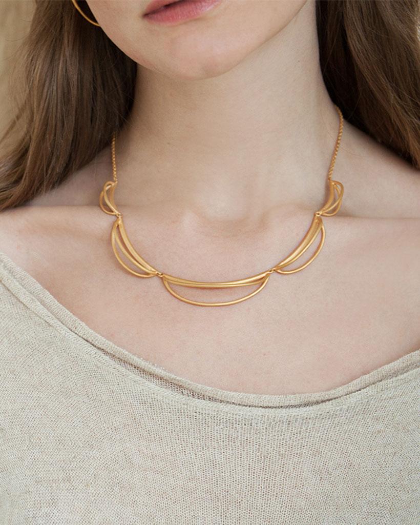 Tutti i tipi di collane: il girocollo