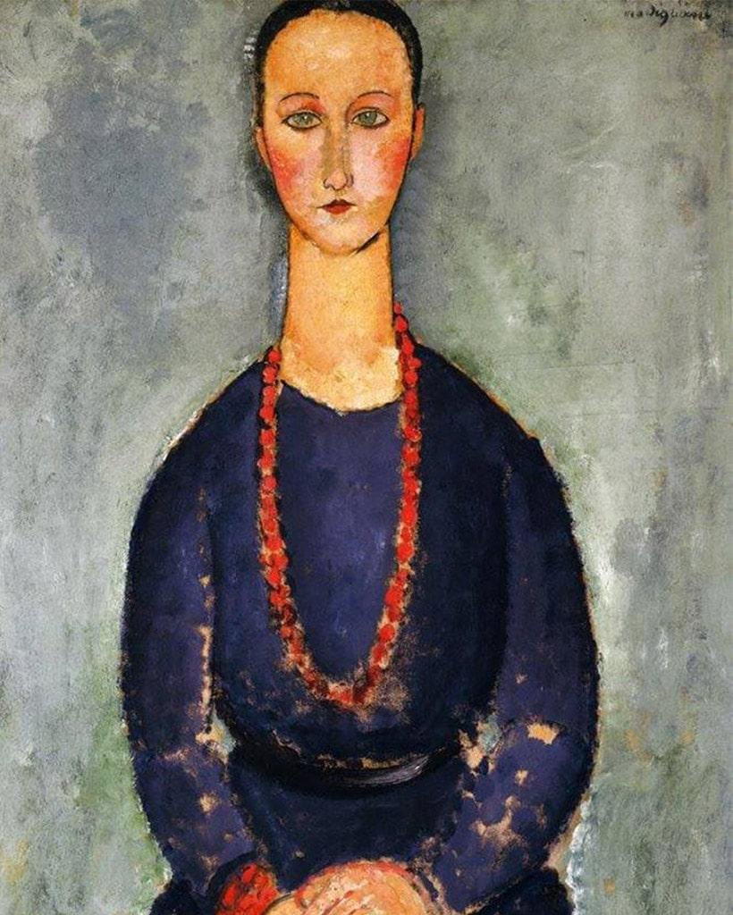 Tutti i tipi di collane: Amedeo Modigliani