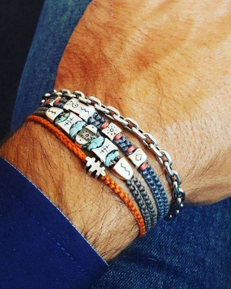 Idea regalo per la festa del papà: il bracciale portafortuna
