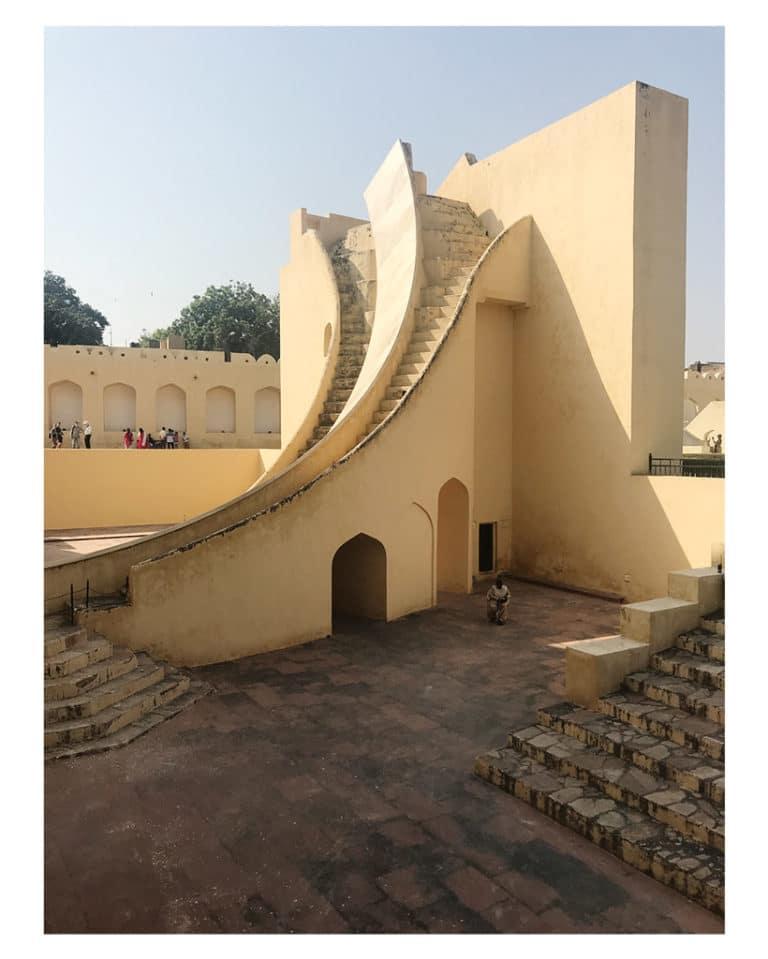 Jaipur: l'osservatorio Jantar Mantar