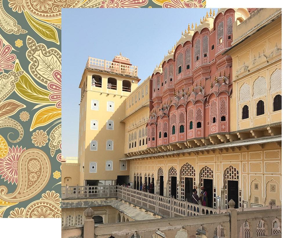 Jaipur la Città Rosa - viaggio in India