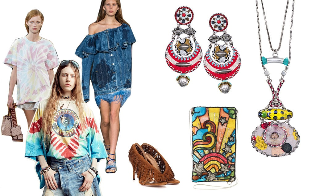 Tendenze primavera estate 2019: hippie e tye die