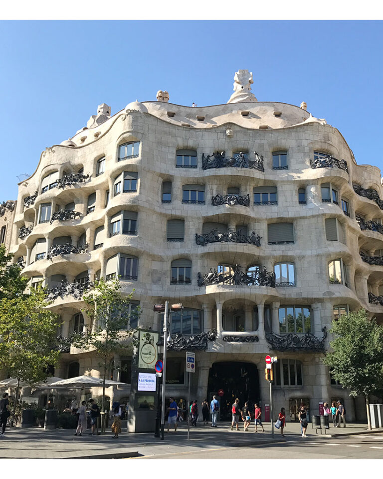 Viaggio a Barcellona: Gaudí