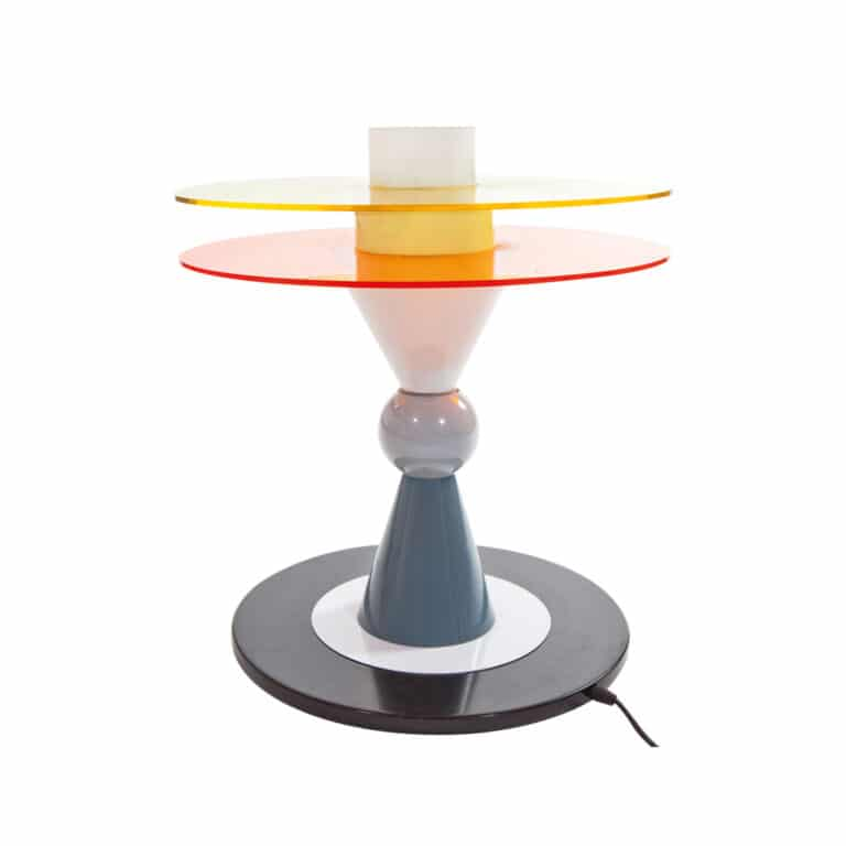 Ettore Sottsass lampada