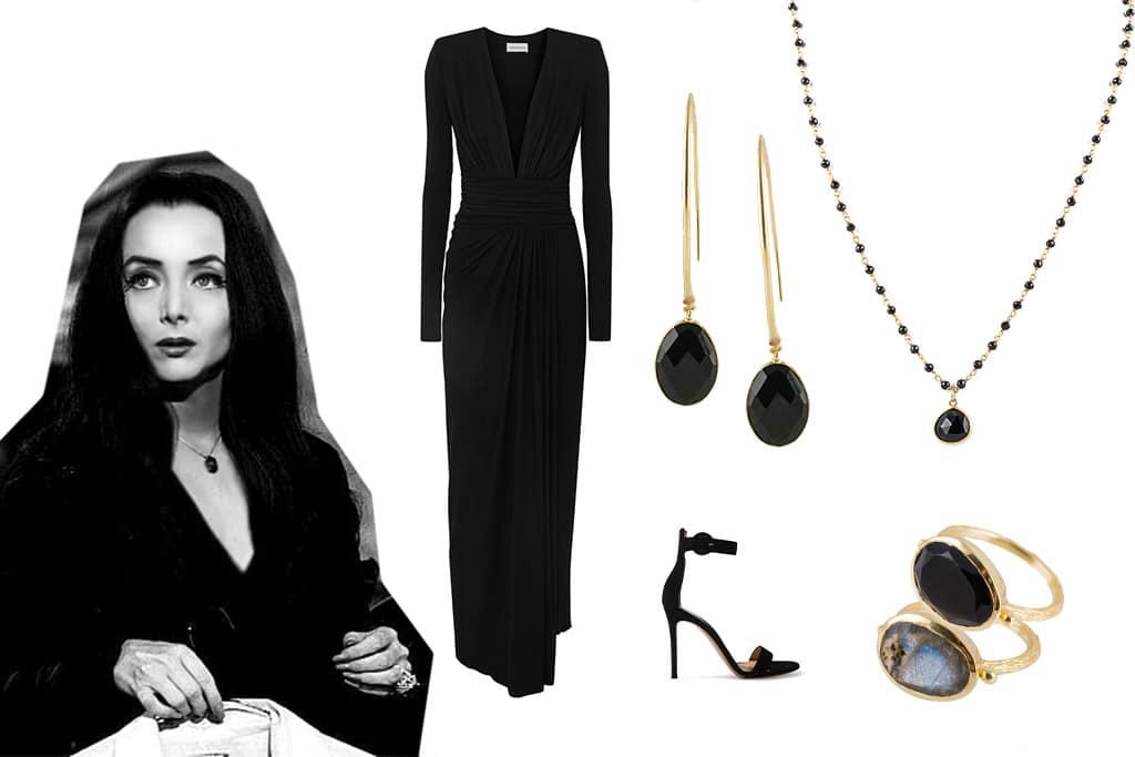 Come vestirsi ad Halloween: Morticia Addams