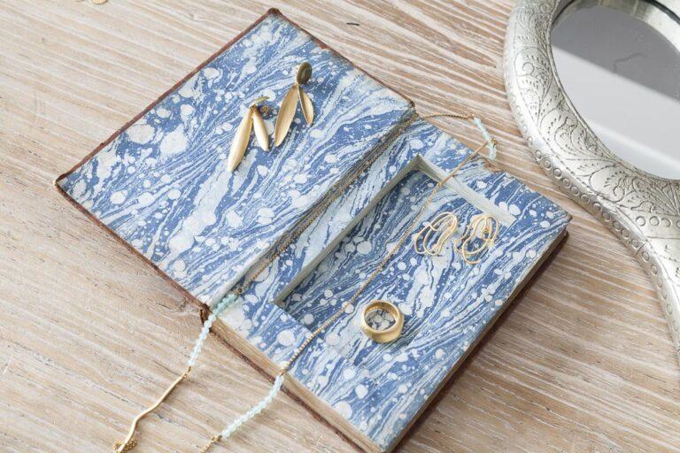 Scatole per gioielli: DIY