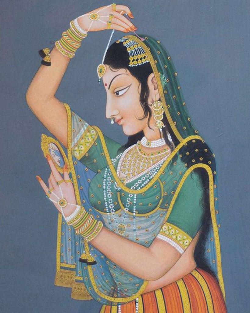 Baciamano: Mughal