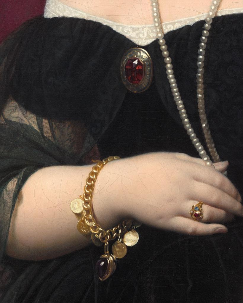 Bracciale con charm nell'arte: Ingres