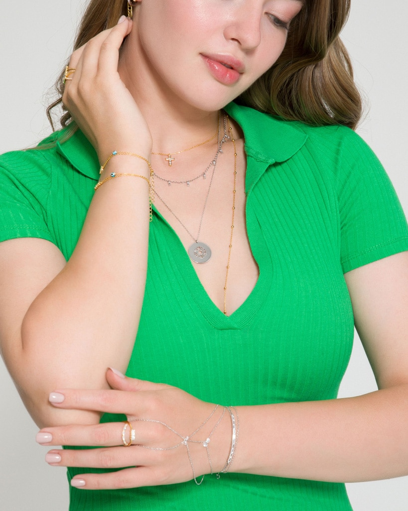 Gioielli Kurshuni: bracciali, baciamano, collane